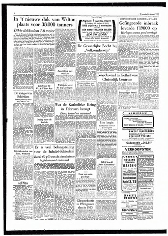 Rotterdamsch Parool / De Schiedammer 1955-01-26