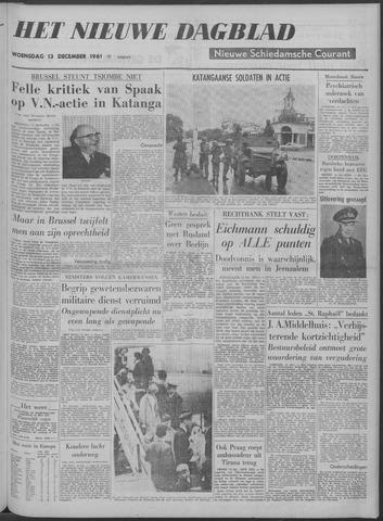 Nieuwe Schiedamsche Courant 1961-12-13