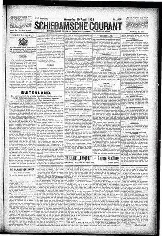 Schiedamsche Courant 1929-04-10