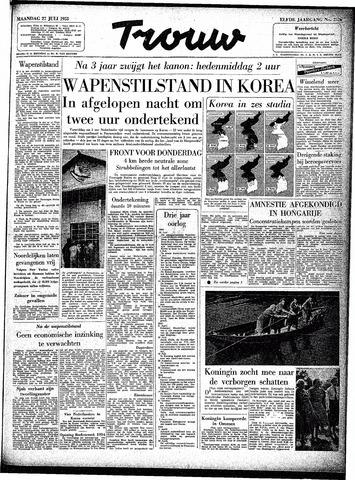 Trouw / De Rotterdammer 1953-07-27