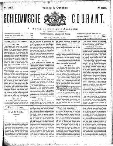 Schiedamsche Courant 1883-10-19