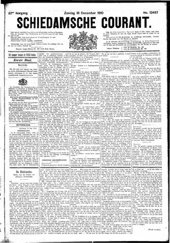 Schiedamsche Courant 1910-12-18
