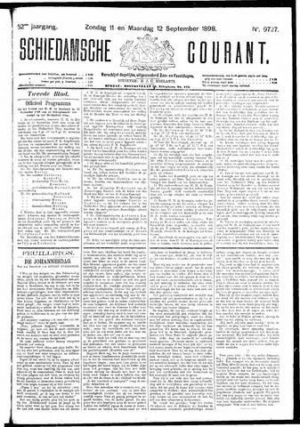 Schiedamsche Courant 1898-09-12