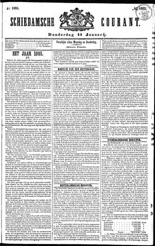 Schiedamsche Courant 1866-01-11