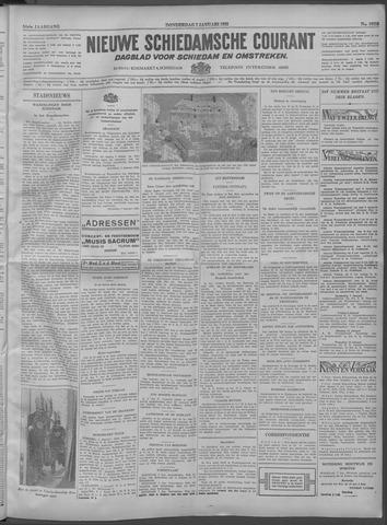 Nieuwe Schiedamsche Courant 1932-01-07