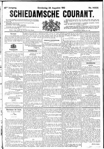 Schiedamsche Courant 1912-08-29