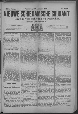 Nieuwe Schiedamsche Courant 1901-01-30