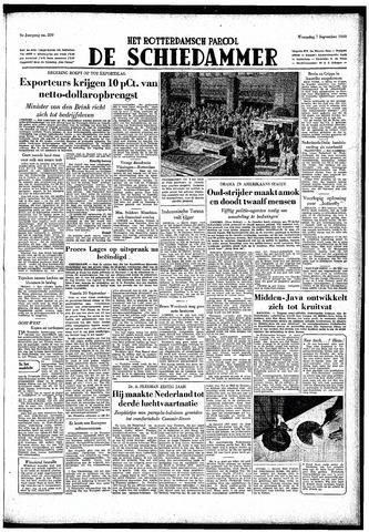 Rotterdamsch Parool / De Schiedammer 1949-09-07