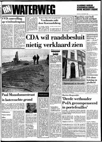 Rotterdamsch Nieuwsblad / Schiedamsche Courant / Rotterdams Dagblad / Waterweg / Algemeen Dagblad 1983-12-02