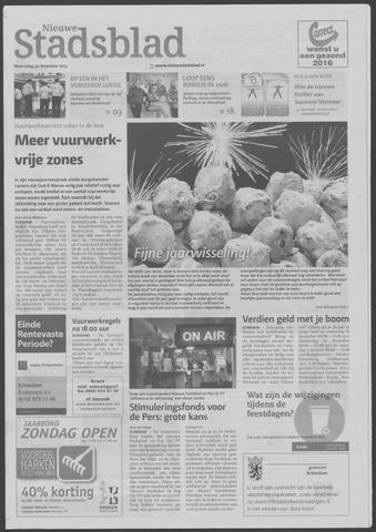 Het Nieuwe Stadsblad 2015-12-30