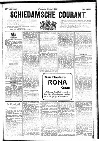 Schiedamsche Courant 1912-04-03