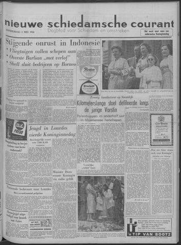Nieuwe Schiedamsche Courant 1958-05-01
