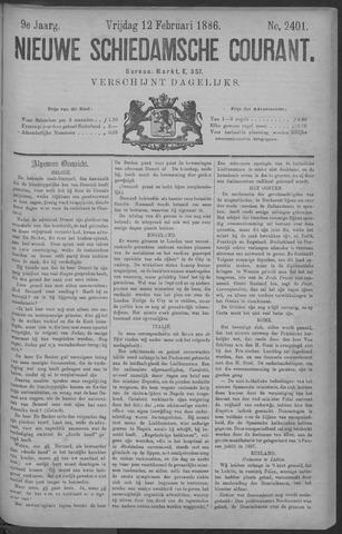 Nieuwe Schiedamsche Courant 1886-02-12
