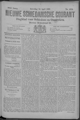 Nieuwe Schiedamsche Courant 1897-04-24