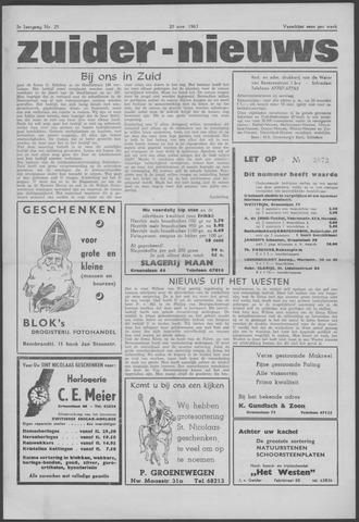 Zuider Nieuws 1963-11-20