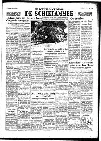 Rotterdamsch Parool / De Schiedammer 1948-07-28