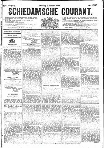 Schiedamsche Courant 1910-01-09