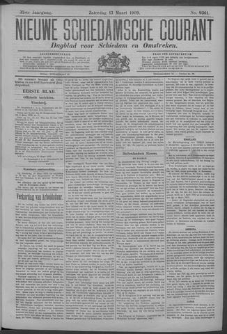 Nieuwe Schiedamsche Courant 1909-03-13