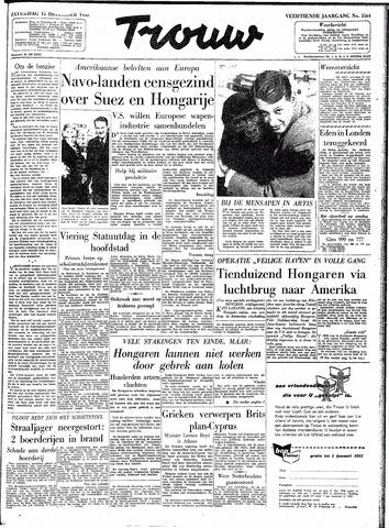 Trouw / De Rotterdammer 1956-12-15