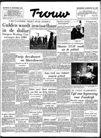 Trouw / De Rotterdammer 1958-12-29