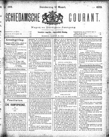Schiedamsche Courant 1885-03-12