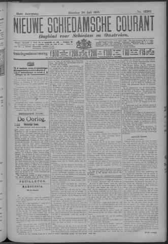 Nieuwe Schiedamsche Courant 1918-07-30