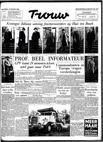 Trouw / De Rotterdammer 1959-03-16