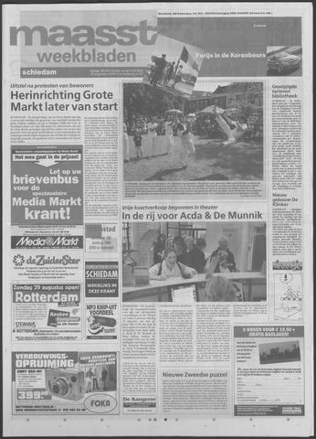 Maaspost / Maasstad / Maasstad Pers 2004-08-25
