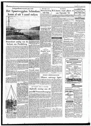 Rotterdamsch Parool / De Schiedammer 1955-11-15