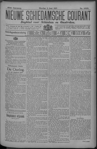 Nieuwe Schiedamsche Courant 1917-06-05
