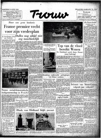 Trouw / De Rotterdammer 1954-07-14
