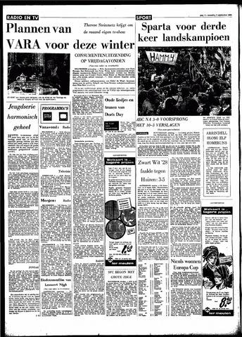Rotterdamsch Parool / De Schiedammer 1966-09-05