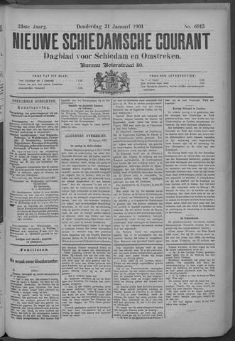 Nieuwe Schiedamsche Courant 1901-01-31