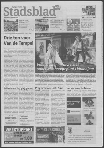 Het Nieuwe Stadsblad 2015-11-11