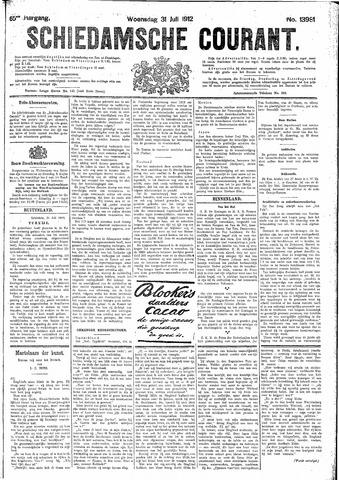 Schiedamsche Courant 1912-07-31