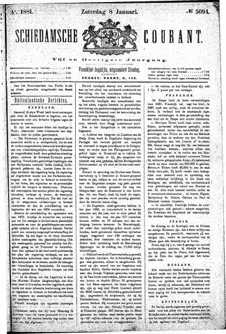 Schiedamsche Courant 1881-01-08