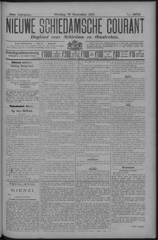 Nieuwe Schiedamsche Courant 1913-09-30