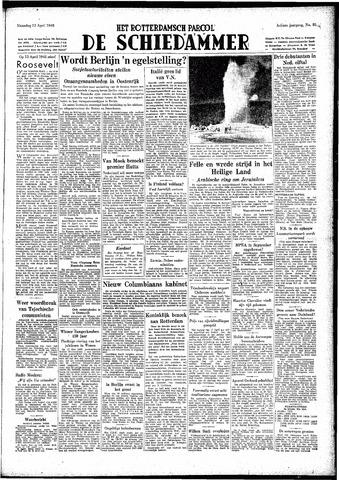 Rotterdamsch Parool / De Schiedammer 1948-04-12