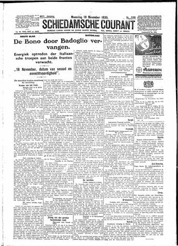 Schiedamsche Courant 1935-11-18