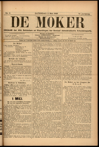 De Moker 1908-05-02
