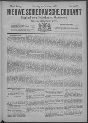Nieuwe Schiedamsche Courant 1892-10-04