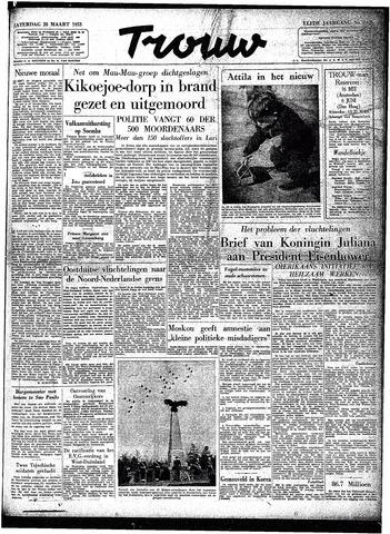 Trouw / De Rotterdammer 1953-03-28