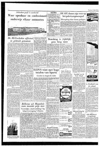 Rotterdamsch Parool / De Schiedammer 1955-07-19
