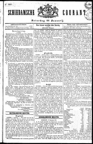 Schiedamsche Courant 1851-01-11