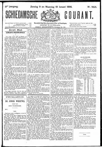 Schiedamsche Courant 1898-01-10