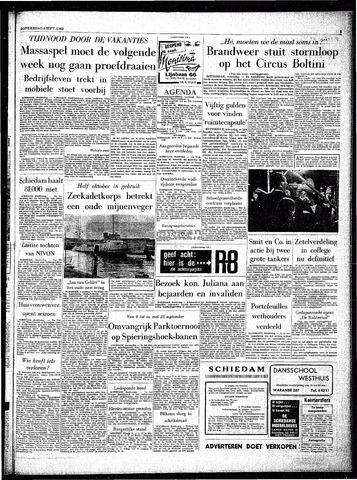 Rotterdamsch Parool / De Schiedammer 1962-09-06