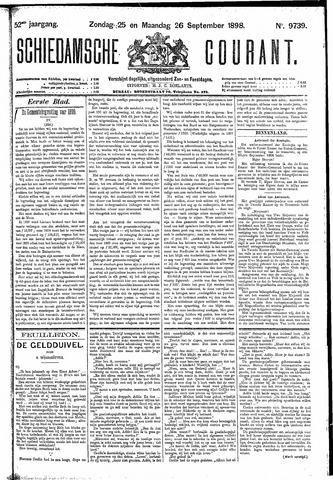 Schiedamsche Courant 1898-09-26