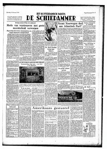 Rotterdamsch Parool / De Schiedammer 1949-02-19