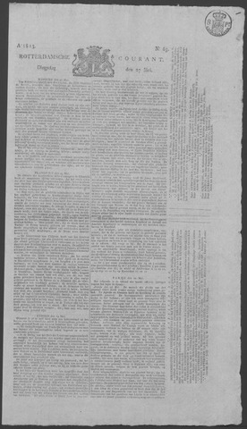 Rotterdamse Courant 1823-05-27