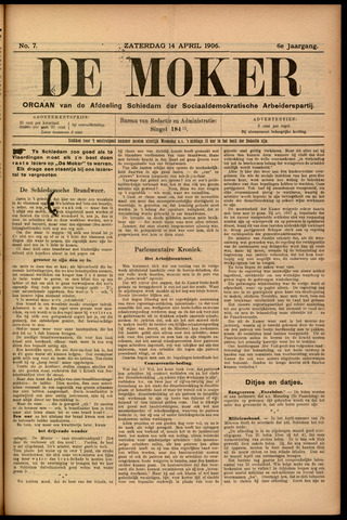 De Moker 1906-04-14